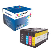 LinkToner Compatible 950XL 951XL Ink Cartridge Replacement for OfficeJet Pro 8600 8610 8620 8630 8660 8640 8615 8625 276DW 251DW 271DW