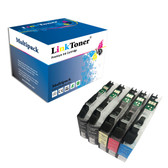 LinkToner Compatible Brother LC203XL Ink Cartridge Replacement for Brother LC203 Work with Brother MFC-J480DW MFC-J885DW MFC-J485DW MFC-J880DW MFC-J680DW MFC-J4420DW MFC-J4620DW MFC-j460DW MFC-J5620DW MFC-J57