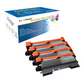 LinkToner Jumbo Yield TN450 Black 4 Pack Compatible Toner Cartridge Replacement for Brother TN450 BK Printer DCP-7060, DCP-7060D, DCP-7065DN, DCP-7070DW, HL-2220, HL-2230, HL-2240, HL-2240D, HL-2242D, HL-2250DN,