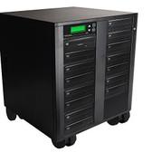 Copystars DVD-Duplicator 24X CD-DVD-Burner 1 to 15 Copier Sata Dual Layer Copy Easy Writer Tower