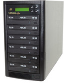 Copystars CD Dvd Duplicator 1 to 5 Sata 24x Asus burner writer DVD copier 128MB buffered tower