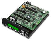 Athena SATA CD/DVD/Blu Ray Duplicator Controller card 1-15 256mb cache multi burner +cables