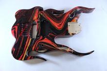 Multicolor Flame Body P172