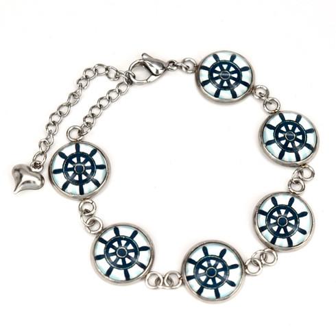 Bracelet, 12mm button