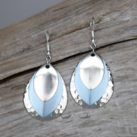 SEA BLUE EARRINGS.