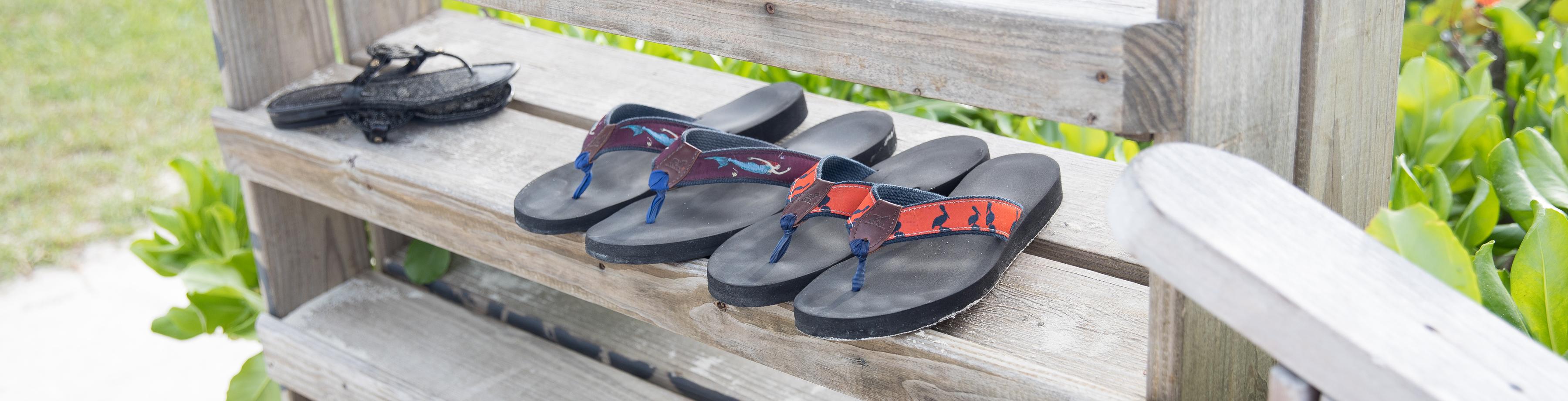 87aa92371 Flip Flops - Men s Flip-Flops - Belted Cow Company