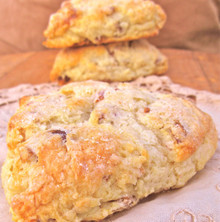Bacon Date Scones - 6 Included