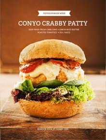 Barby's Conyo Krabby Patty Burger - (Free Recipe below)