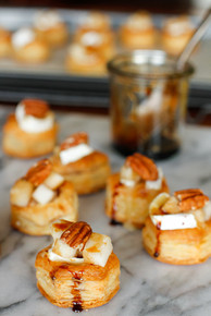 Baked Brie, Pear & Pecan Bites - (Free Recipe)