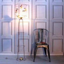 Bird Cage Floor Light