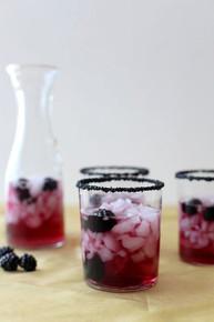 Black Cocktail Rimming Sugar