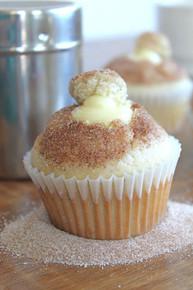 Donut Muffins with Vanilla Pastry Cream - One Dozen