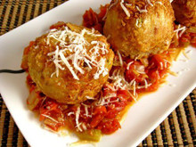 Arancini di Riso (Rice Balls) - (Free Recipe below)