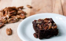 Toasted Pecan Chocolate Brownies - One Dozen - Gluten Free