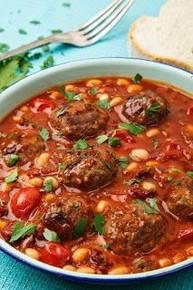 Italian Tomato Meatball Soup - (Free Recipe below)