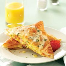 Benedict Eggs in Pastry - (Free Recipe below)
