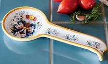 Ceramic Italian Spoon Rest - many designs available