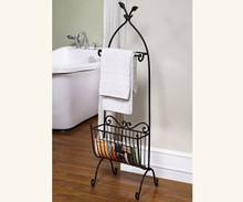 Songbird Towel and Magazine Rack