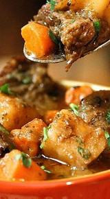 Hearty Beef Stew - (Free Recipe below)