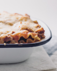 ACORN SQUASH LASAGNA - (Free Recipe below)