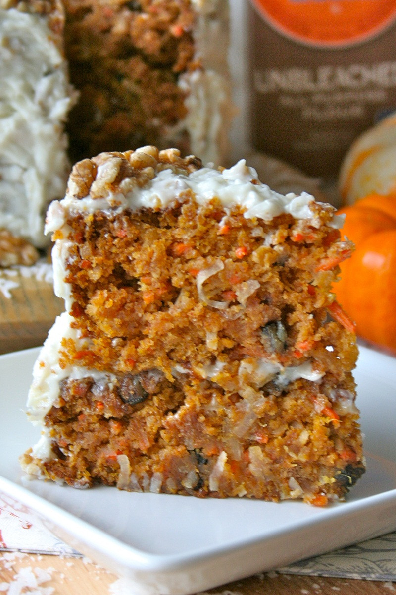 Gold Medal Flour Carrot Cake Recipe