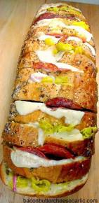 ITALIAN DELI CRAZY BREAD - (Free Recipe below)