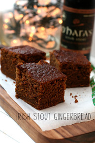 Irish Stout Guiness Gingerbread - (Free Recipe below)