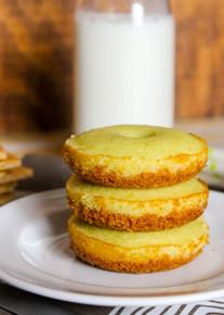 Key Lime Pie Donuts - One Dozen w/ recipe below