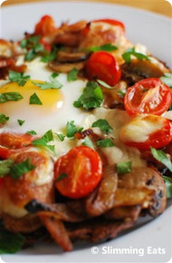 Breakfast Hash Brown Pizza - (Free Recipe below)