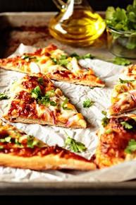 Barbecue Chicken Pizza - (Free Recipe below)
