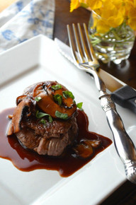 Filet Mignon With Red Wine Sauce Free Recipe Below