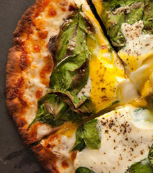 Breakfast Pita Pizza - (Free Recipe below)