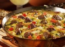 Asiago, Sausage Egg Skillet - (Free Recipe below)
