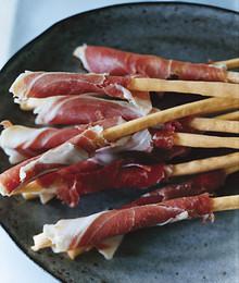 Prosciutto Wrapped Grissini - (Free Recipe below)