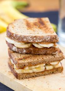 Anti Hangover Peanut Butter Banana Sandwich - (Free Recipe below)