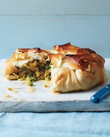 Curried Chicken and Potato Pie - (Free Recipe below)
