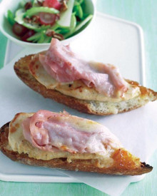 Apricot and Cheddar Chicken Melt - (Free Recipe below)