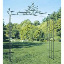 Dallen Wrought Iron Garden Arbor