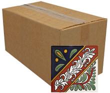 """Talavera Tile - TIL052 - Pack of 90 - 4"""" x 4"""""""
