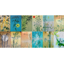 Bamboo Scenes Bamboo Beaded Curtain - choose from many designs