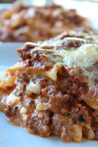 Classic Meat Lasagna - Serves 2