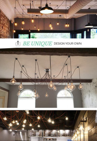 14 Pendant Light Swag Chandelier - Custom made to order