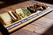Bamboo Chalkboard Cheese Tray Board