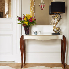 Amelie Mirrored French Style Console Table