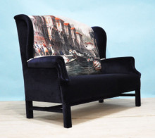 Bosphorus Wing Back Sofa