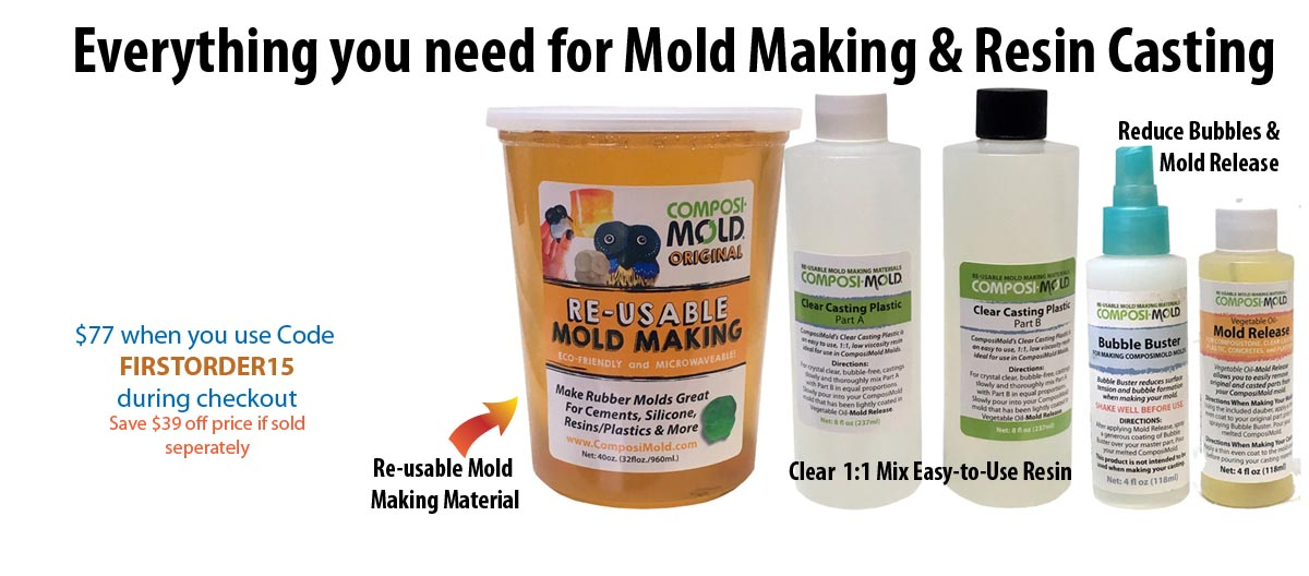 All in one Mold Making Kit