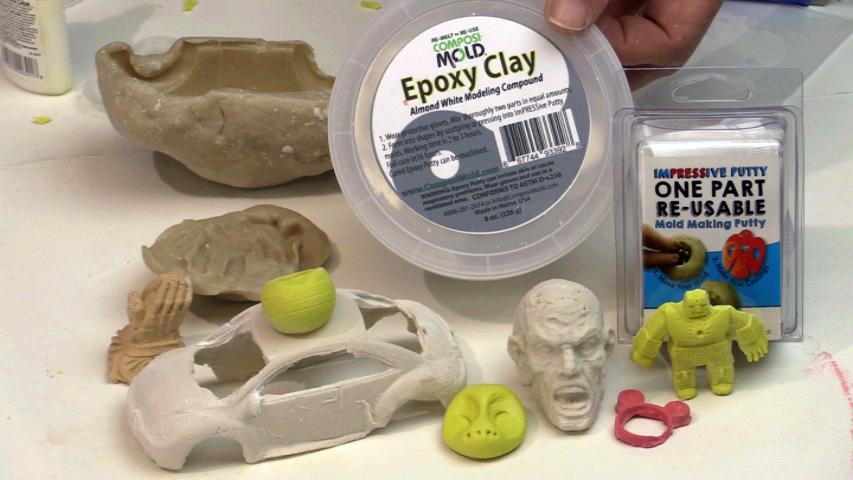 Epoxy Clay - ComposiMold com