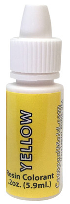 Yellow Epoxy Pigment (Colorant, Dye, Tint) 6cc (0.2 oz.)