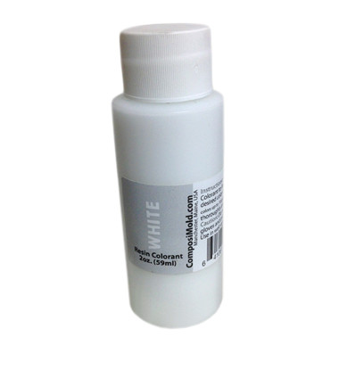 White Epoxy Pigment (Colorant, Dye, Tint) 2oz