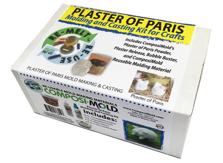 Plaster of Paris Mold Making and Casting Kit
